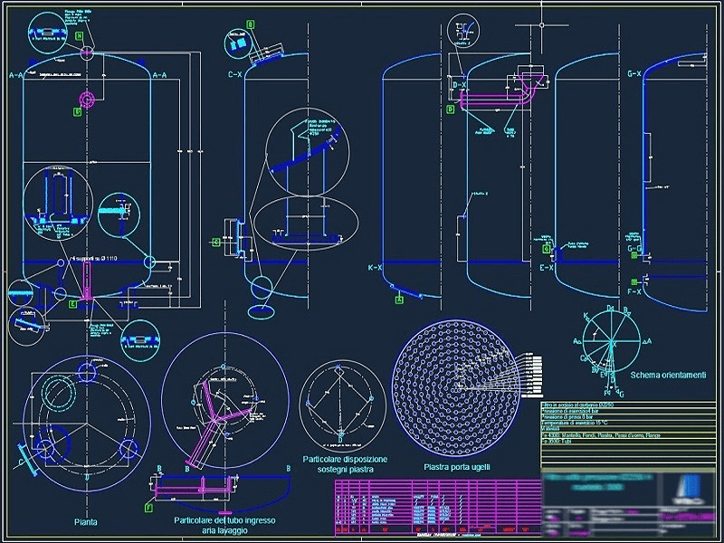 BioFilters BF 2400 - CONSTRUCTION DRAWING #1